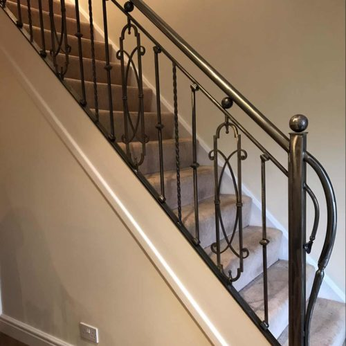 case study 3 - overwrought -metal staircases