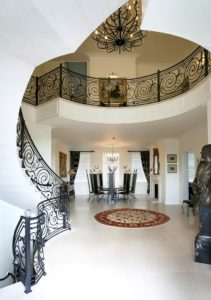 staircases flourished swirls and spirals - opverwrought